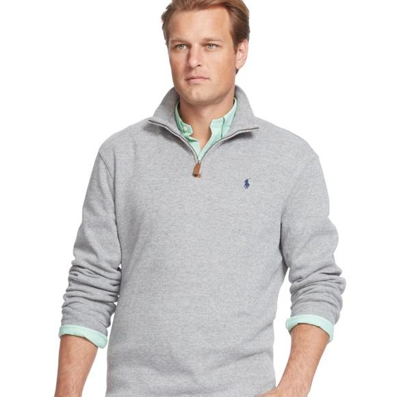 a1c831717e20 Men s Polo Ralph Lauren Half Zip Sweater. M 5a51759861ca105406030f60